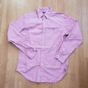 Polo Ralph Lauren Pink Button Up Dress Shirt